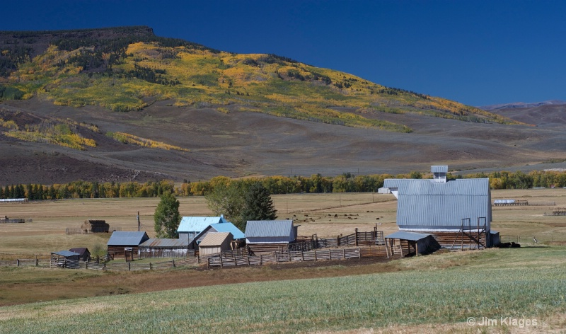 Ranch and Fall Foliage