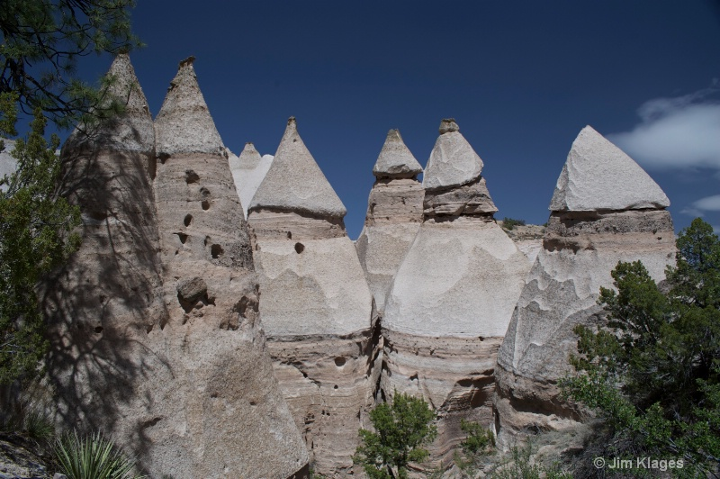 Tent Rock Formation