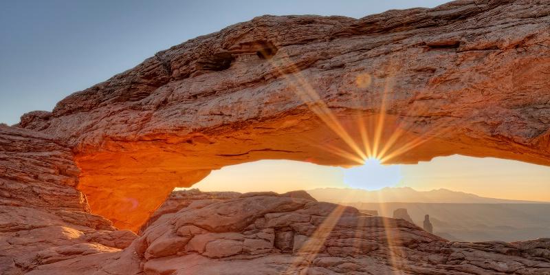 Mesa Arch Canyonlands Morning
