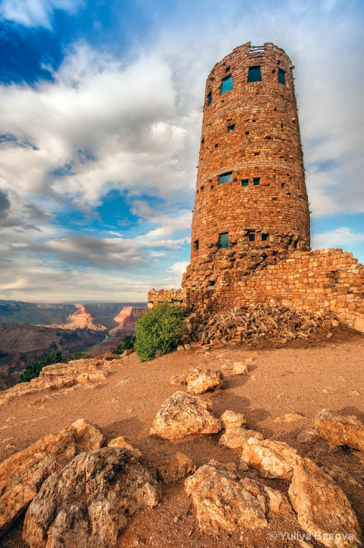 Grand Canyon NP, Desert View Watchtower<p>