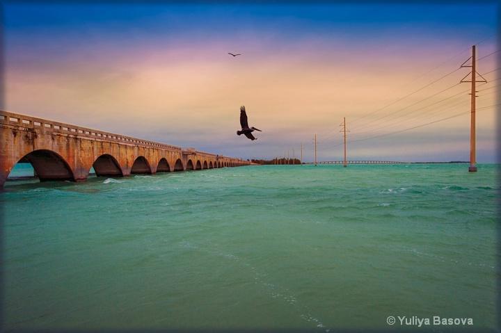 Overseas Highway Bridge<p>
