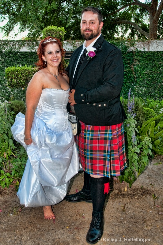 John & Gina's Church Wedding