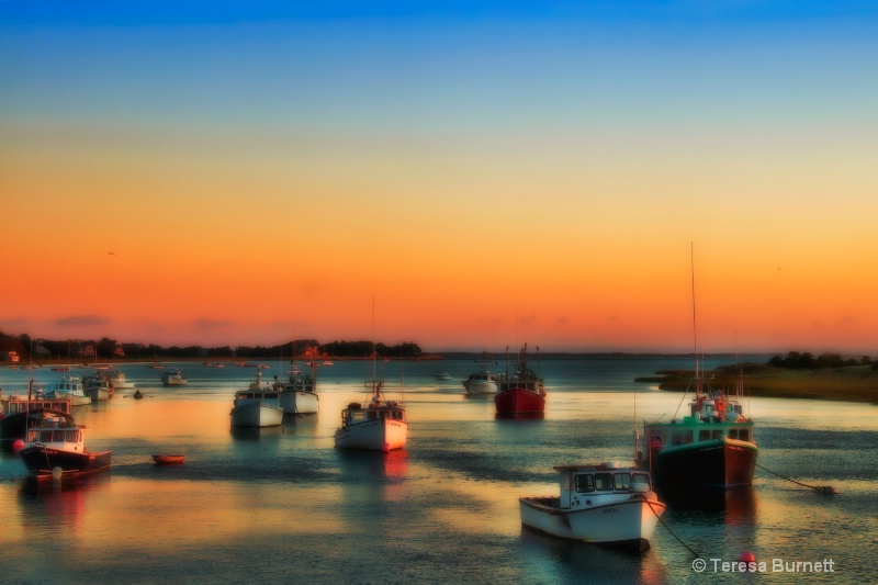 Harbor at First Light