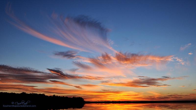 Sunset at Lake Apopka