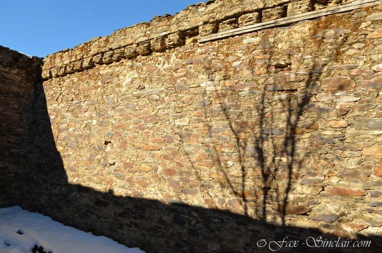 Wall with Shadow
