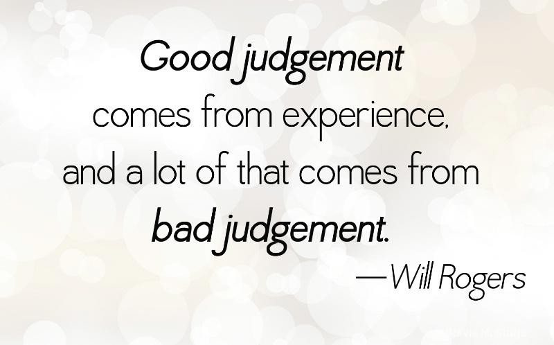 good judgement 4