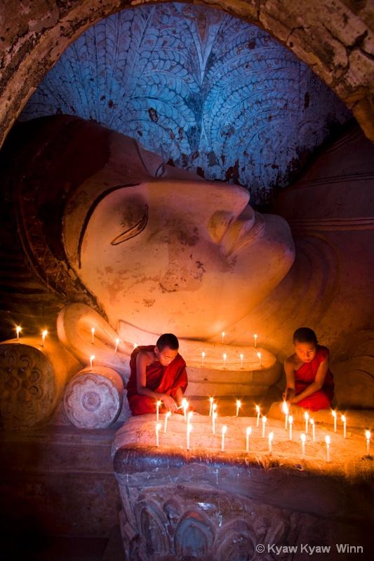 The Buddha Image & Novices