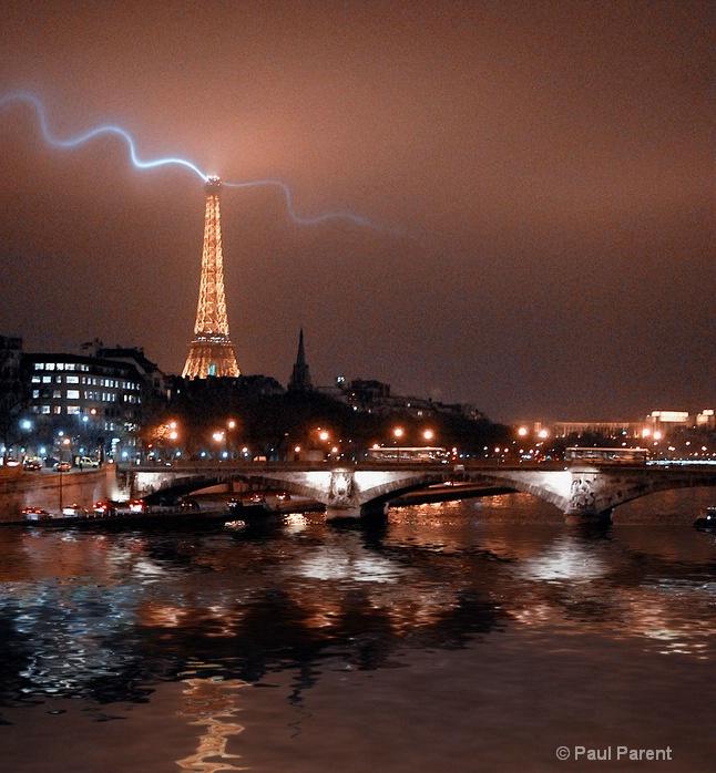 Golden Night in Paris