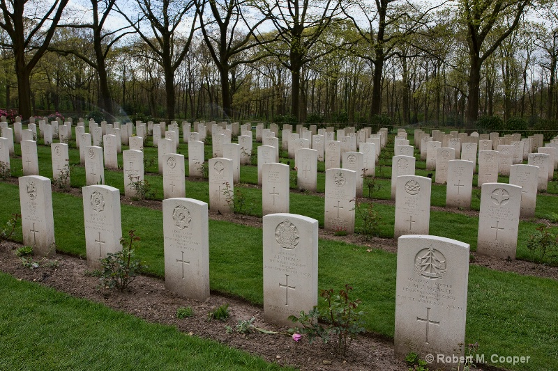 Arnham WWII Cemetary