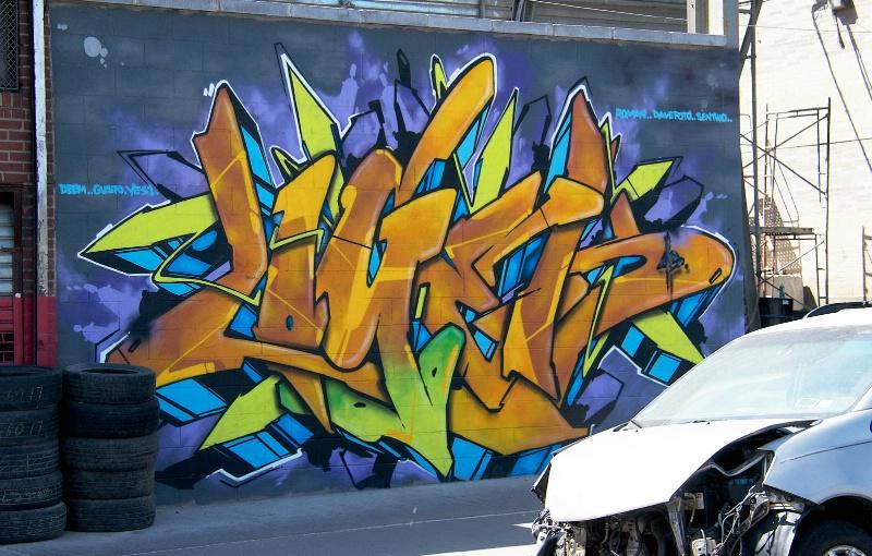 Car Wreck and Art