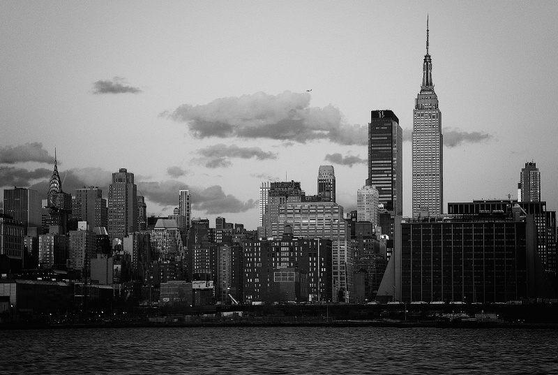 Manhattan from the West