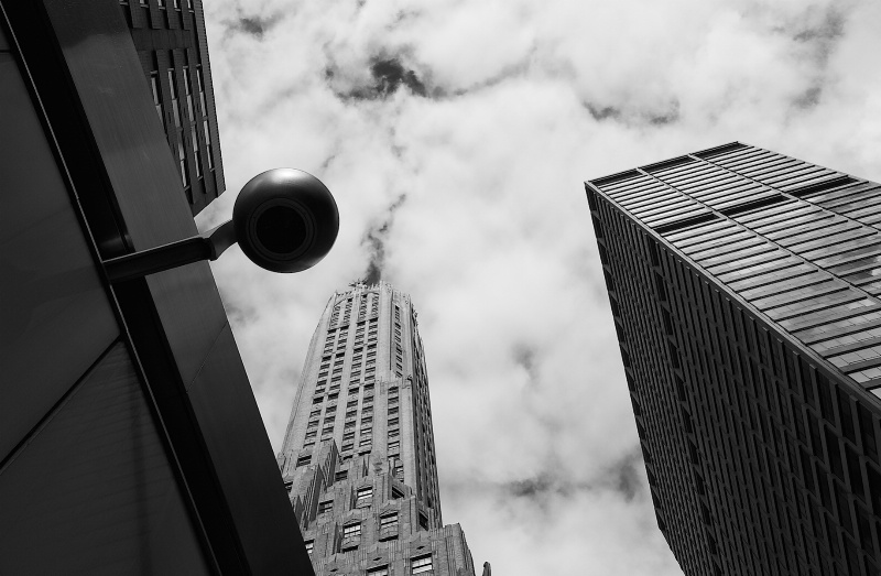 Chrysler Building and Lamp