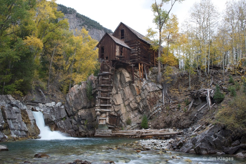 Historic Crystal Mill