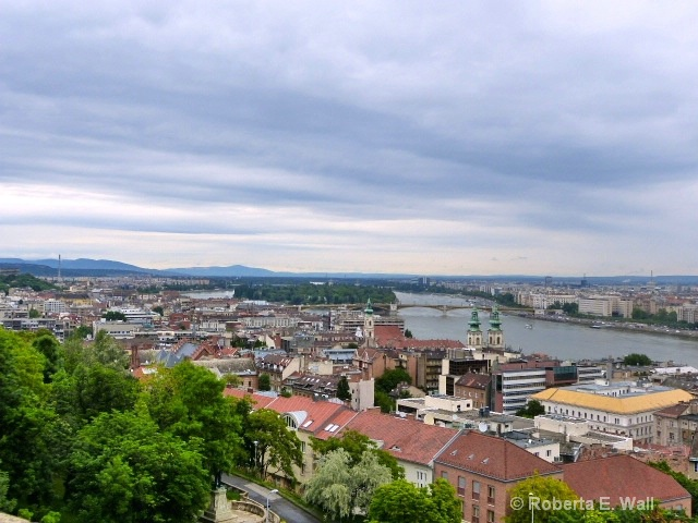 budapest over view
