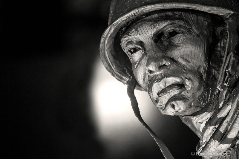 Korean War Memorial Soldier