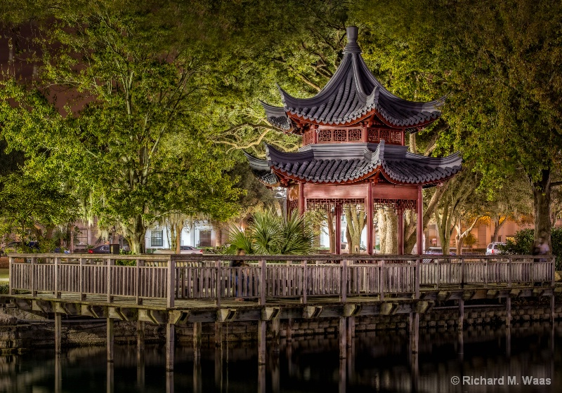 Pagoda at Lake Eola
