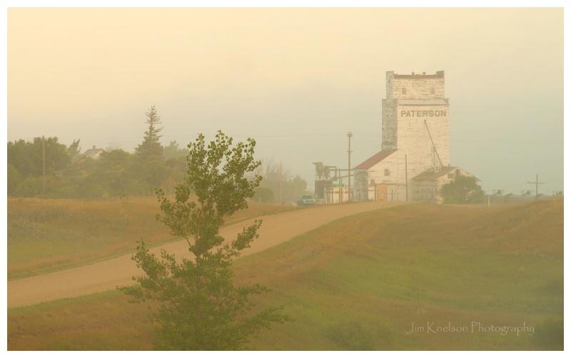 Parkbeg Saskatchewan Grain Elevator