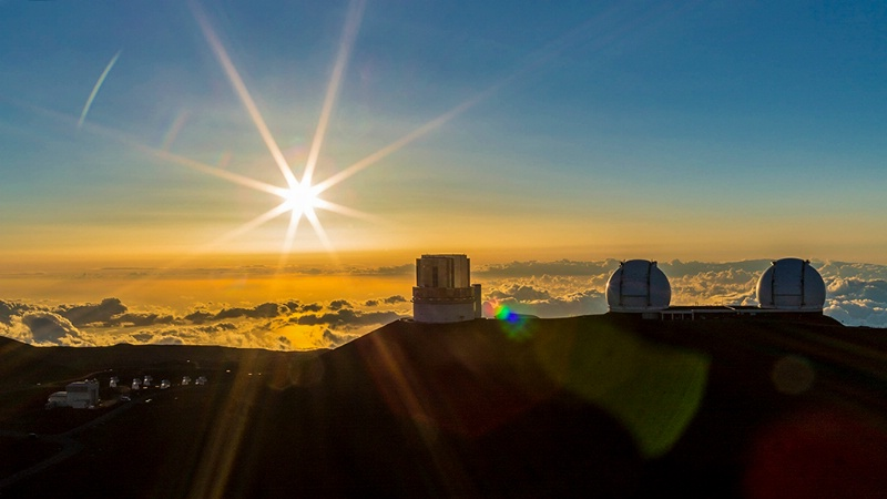 Mauna Kea Sunset Burst