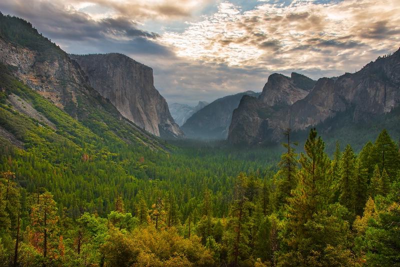 Yosemite Tunnel View - III