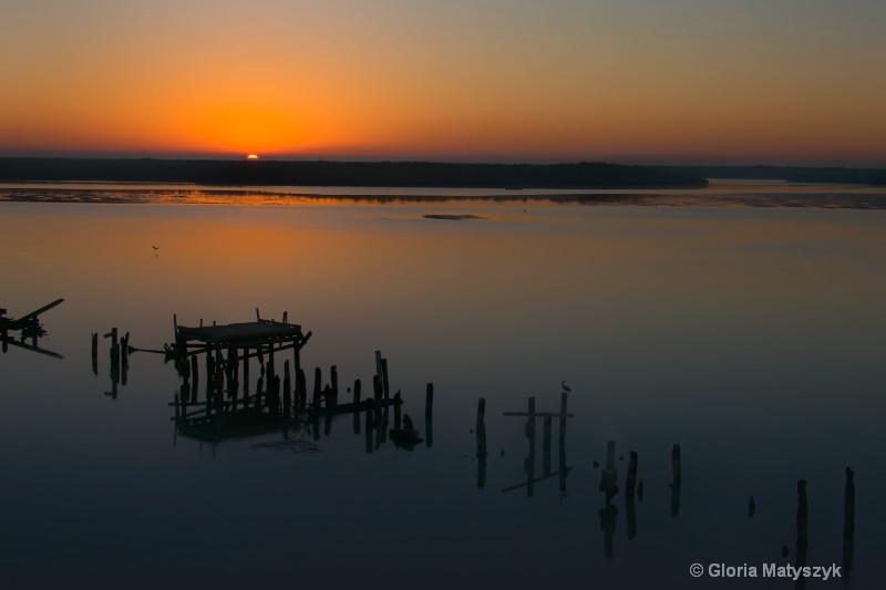 Pre-dawn over the Everglades