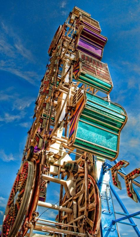 Ferris Wheel by Tom Statas
