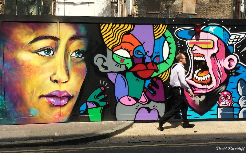 Collective Street Art in London