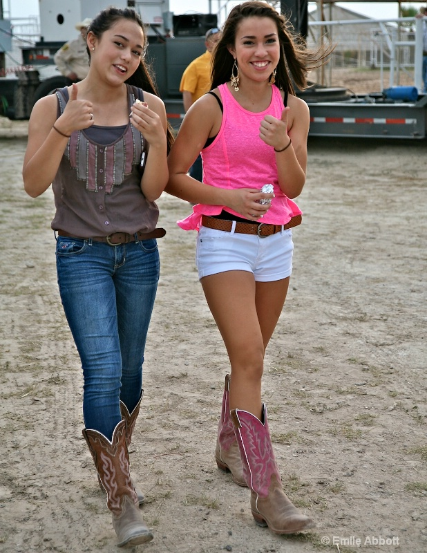 Thumbs up, Smiles and Instep Beauties