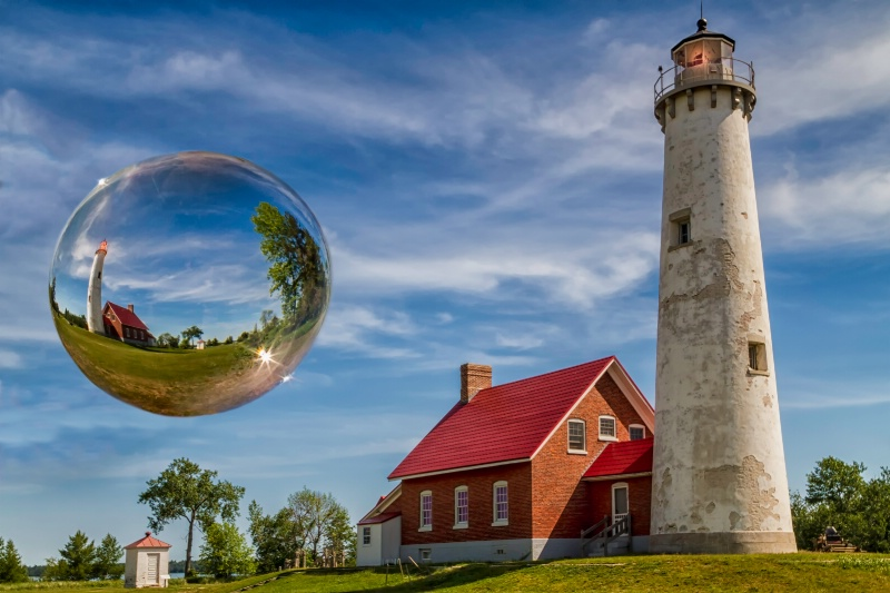 Tawas Lighthouse Sphere2