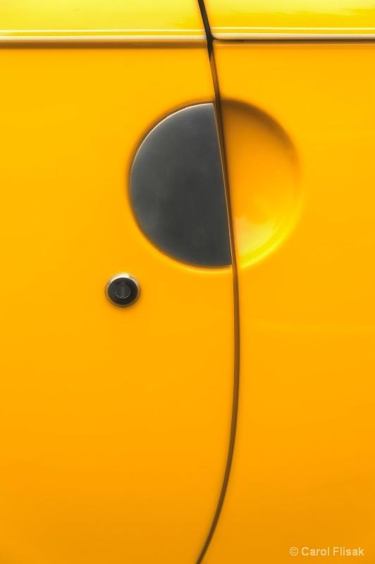 Semi-Circle on Yellow