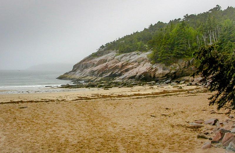 Foggy Coastline II