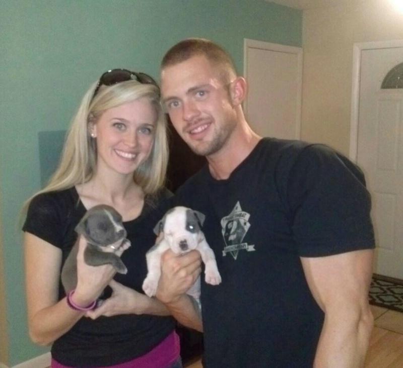 AUZ AND LANA WITH FUR BABIES