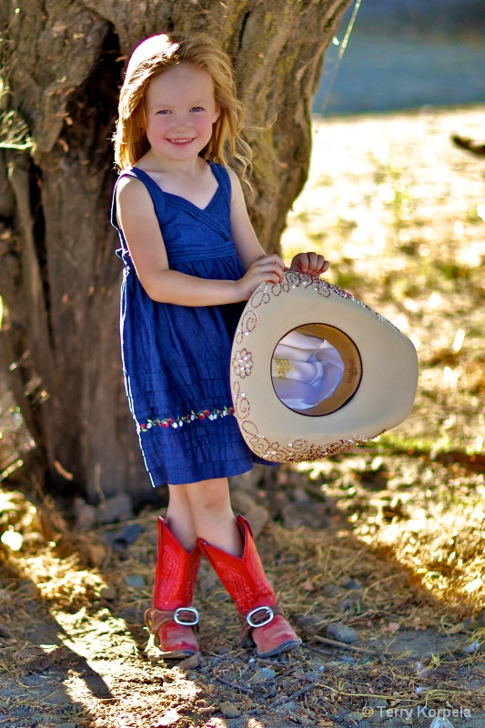 Little Cow Girl