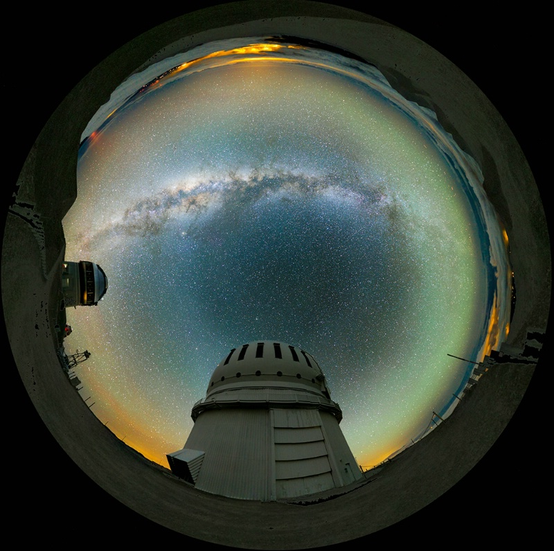 Little Planet at Mauna Kea Observatory