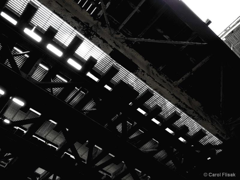 Under the El Tracks