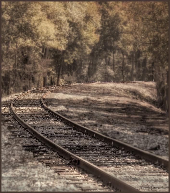 Train Tracks in Georgia