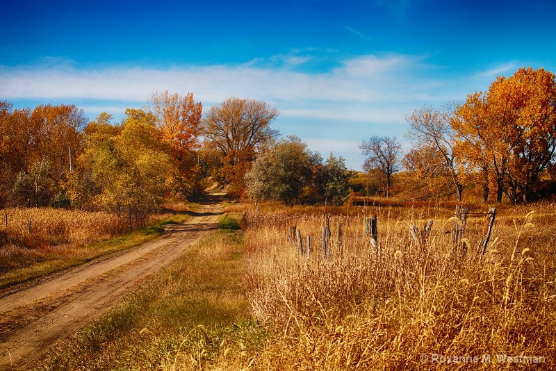 Fall Drive in North Dakota