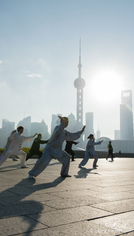 Martial Arts on the Bund- Shanghai, China