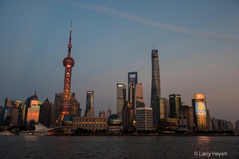 View from the Bund- Shanghai, China