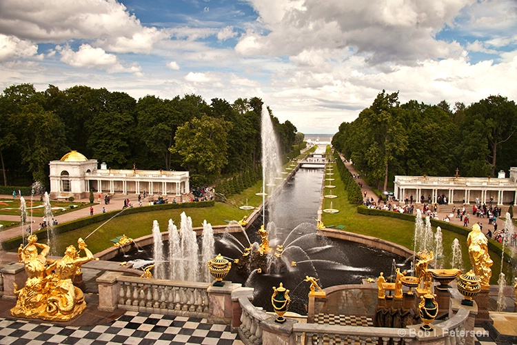 Peterho Gardens, St Petersburg Russia