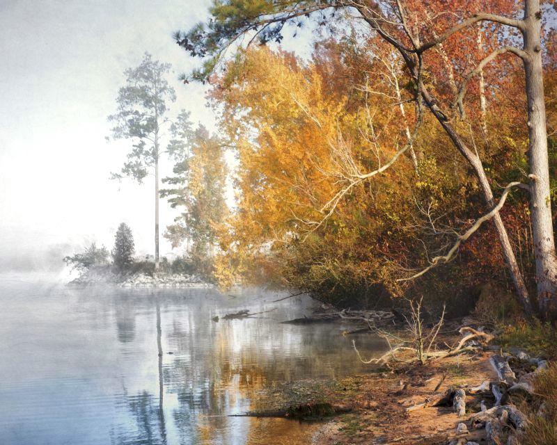 Lakeside Autumn Walk