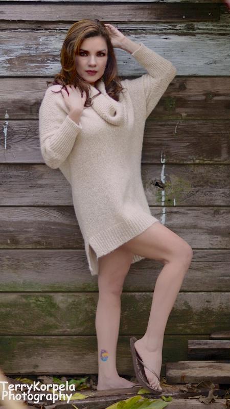 Fall Sweater Shoot