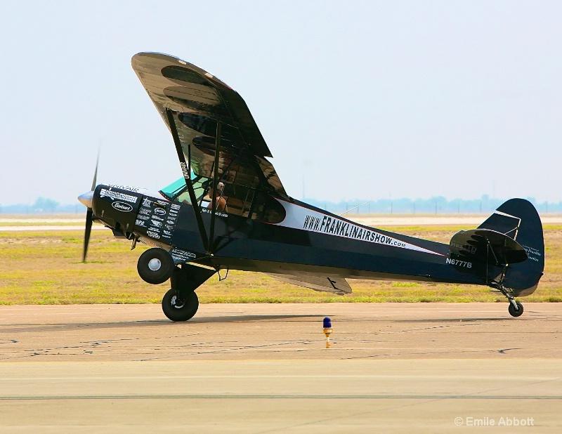 Franklinairshow trick takeoff