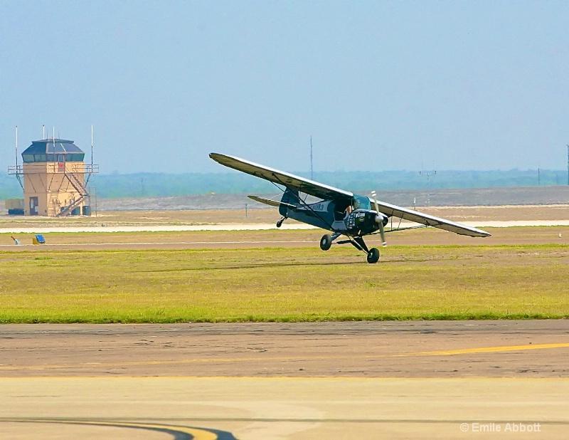 Franklinairshow trick landing