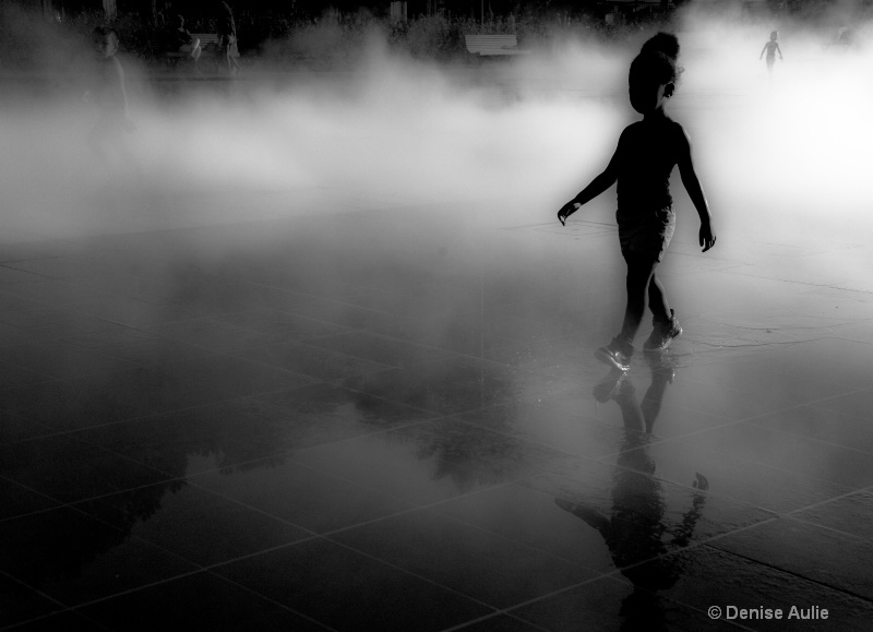 In the mist 13