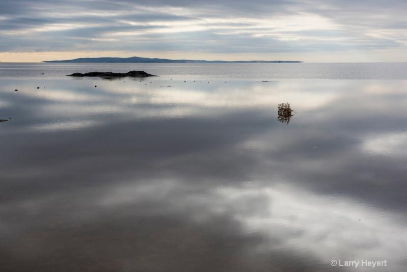 A salt lake in Turkey
