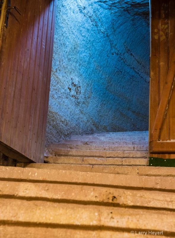Doorway in ancient building- Nevsehire, Turkey