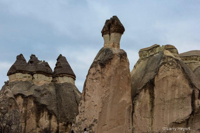 Fairy Castles in Cappadocia, Turkey