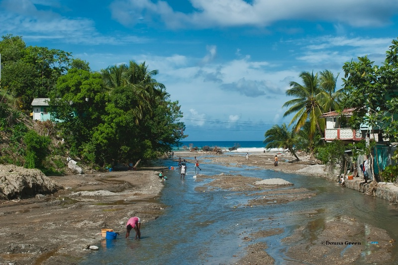 clothes washing - st lucia