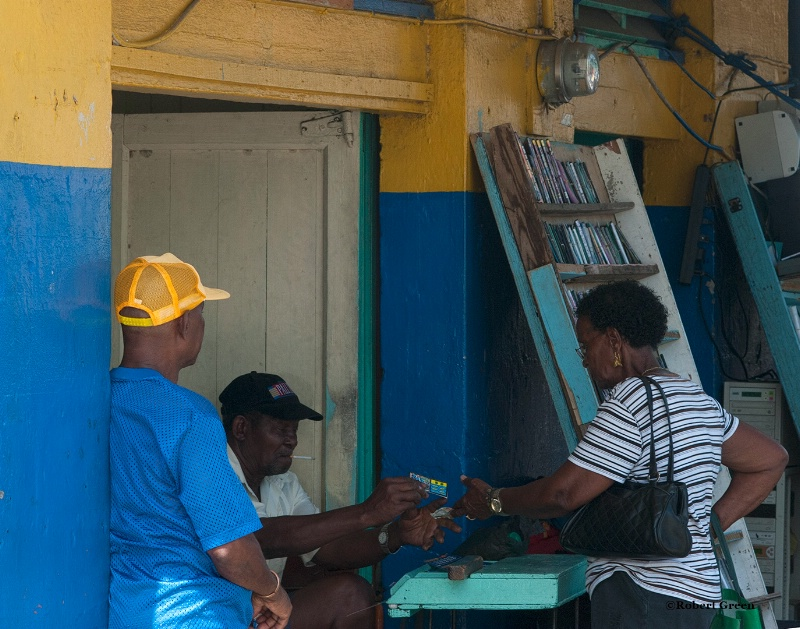 lottery transaction - st lucia