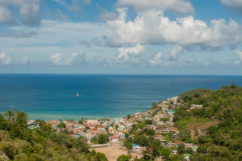 residential area - st lucia